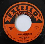"45Re ✦ SLIM HARPO ✦ ""Late Last Night / Buzz Me Baby"" Great Mid Tempos R&B.Hear ♫"